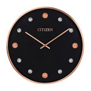 Citizen Black Wall Clock-Cc2028, One Size , No Color Family