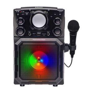 Karaoke USA Portable MP3 Bluetooth Karaoke Player - GQ410