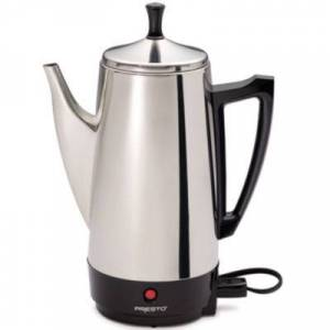 National Presto Presto??12-Cup Stainless Steel Coffee Maker