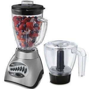 Oster?? 16-Speed Blender with Food Processor Attachment