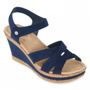 ST. JOHN`S BAY St. John's Bay Womens Balama Wedge Sandals
