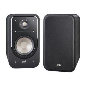 Polk Audio Signature S20 American HiFi Home Theater Large Bookshelf Speakers - Pair - Black