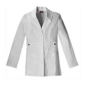 "Dickies?? 82408 Youtility 28"" Lab Coat???Junior Plus"