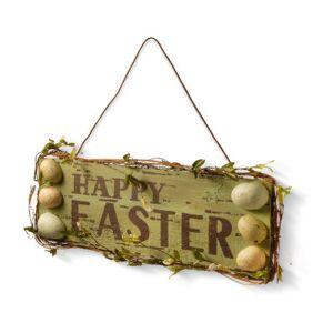 """National Tree Co. 21"""" Door Hanger- Happy Easter Wall Sign"""