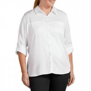 Dickies Long Sleeve Lyocell Shirt- Plus