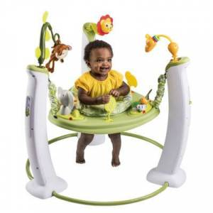 Evenflo Exersaucer Safari Friends Baby Jumper