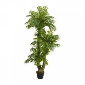 Nearly Natural 5 Triple Phoenix Palm Artificial Tree