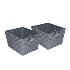 HONEY CAN DO Honey-Can-Do?? Set of 2 Woven Baskets