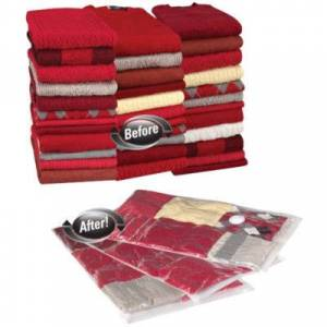 Household Essentials 3-PC MightyStor Large VacuumStorage Bags