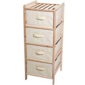 Lavish Home??? 4-Drawer Organization Unit
