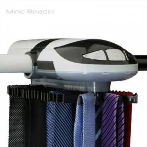 MINDREADER Mind Reader Electric Tie Rack - Holds 45