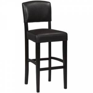 Asstd National Brand Brady Upholstered Barstool with Back