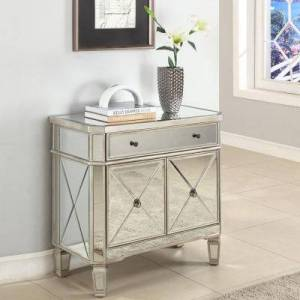 Asstd National Brand Harlowe Mirrored Console Table