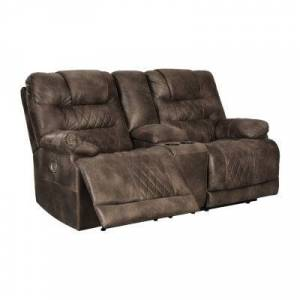 Signature Design by Ashley?? Welsford Pad-Arm Power Recline Loveseat