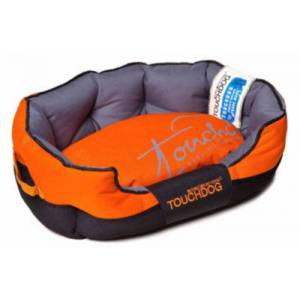 Asstd National Brand The Pet Life Touchdog Performance-Max Sporty Comfort Cushioned Dog Bed