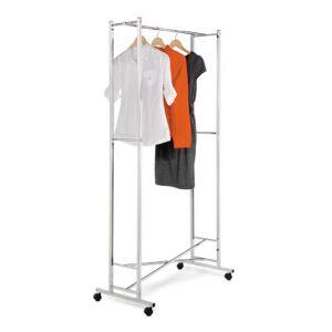 HONEY CAN DO Honey-Can-Do?? Square-Tube Folding Garment Rack