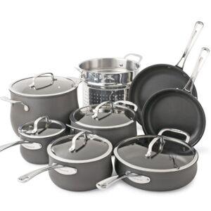 Cuisinart?? Contour 13-pc. Hard-Anodized Cookware Set