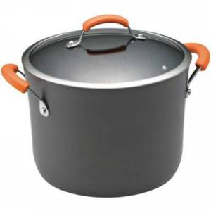 Rachael Ray?? 10-qt. Hard-Anodized Covered Stock Pot