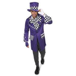 Disney Mad Hatter 7-pc. Dress Up Costume Mens