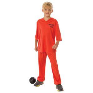 Asstd National Brand Boys Inmate 101 Costume