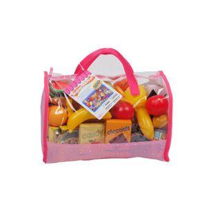 Asstd National Brand Play Food In Carry Bag (120 Piece)