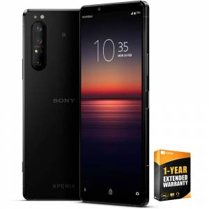 Sony Xperia 1 II - 6.5 4K HDR OLED Triple Camera Smartphone + Extended Warranty