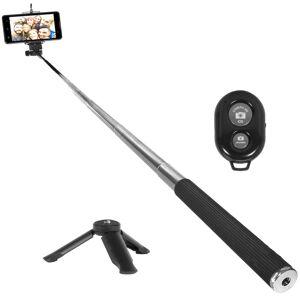 Sony Xperia 1 II - 6.5 4K HDR OLED Triple Camera Array Smartphone+Selfie Stick
