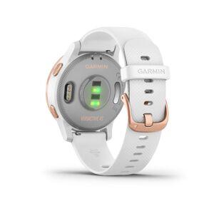 Garmin vivoactive 4S Smartwatch - (White/Rose Gold)