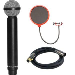 BeyerDynamic Legendary Hypercardioid Double Ribbon Microphone w/ Filter Bundle