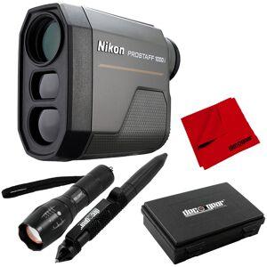 Nikon PROSTAFF 1000i 6x20 Laser Rangefinder + Deco Gear Tactical Set Bundle