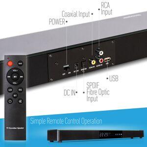 Samsung UN43TU7000 43 4K Ultra HD Smart LED TV (2020) with Deco Gear Soundbar Bundle