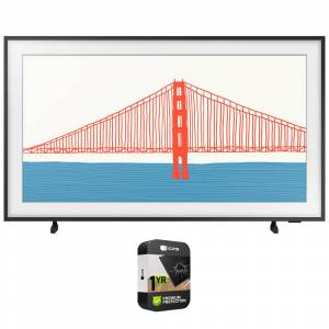 Samsung 75 Inch The Frame TV 2021 with Premium 1 Year Extended Protection Plan