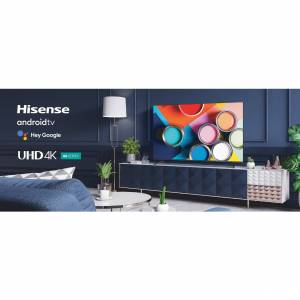 Hisense 65 Inch A6G Series 4K UHD Smart Android TV with Dolby Vision HDR 65A6G (2021)