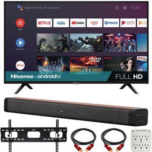 Hisense 43 H55 Series FHD Smart Android TV with Deco Home 60W Soundbar Bundle