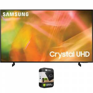 Samsung 43 4K Crystal UHD Smart LED TV 2021 + Premium Extended Protection Plan