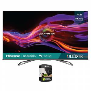 Hisense 55 U8G Series 4K ULED Quantum HDR Android TV 2021 with Protection Plan