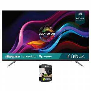 Hisense 55 U7G Series 4K ULED Quantum HDR Android TV 2021 with Protection Plan