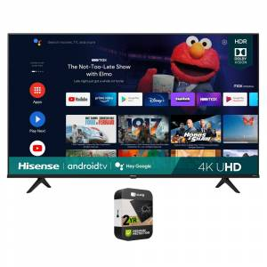 Hisense 43 A6G Series 4K UHD Smart Android TV with Dolby 2021 + Protection Plan