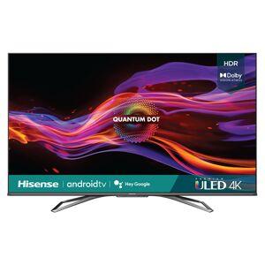 Hisense 55U8G 55 4K ULED Quantum HDR Smart Android TV 2021 +Movies Streaming Pack