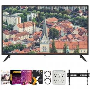 Sansui S40P28FN 40-Inch 1080p Full HD LED Smart TV + Movies Streaming Pack
