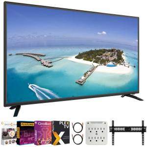 Sansui S43P28FN 43-Inch 1080p Full HD Smart LED TV + Movies Streaming Pack