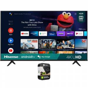 Hisense 65 Inch A6G Series 4K UHD Smart Android TV 2021+Premium Protection Plan