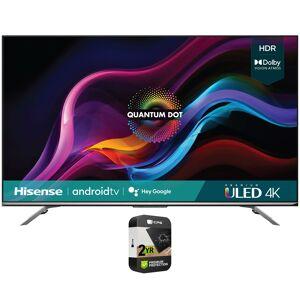 Hisense 75 Inch U7G Series ULED Quantum Android TV 2021+Premium Protection Plan