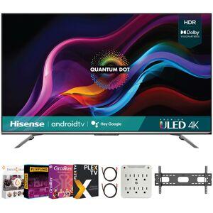 Hisense 75 Inch U7G Series ULED Quantum Android TV 2021 + Movies Streaming Pack