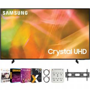 Samsung 43 Inch 4K Crystal UHD Smart LED TV 2021 with Movies Streaming Pack