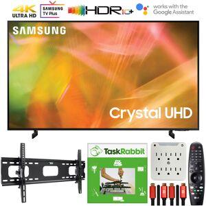 Samsung 43 Inch 4K Crystal UHD Smart LED TV 2021 +TaskRabbit Installation Bundle