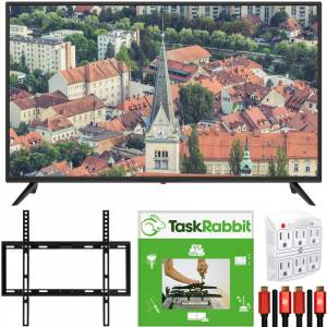 Sansui S40P28FN 40-Inch 1080p Full HD LED Smart TV + TaskRabbit Installation Bundle