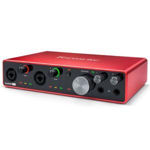 Focusrite Scarlett 8i6 (3rd Gen) 8-in, 6-out USB Audio Interface (AMS-SCARLETT-8I6-3G)