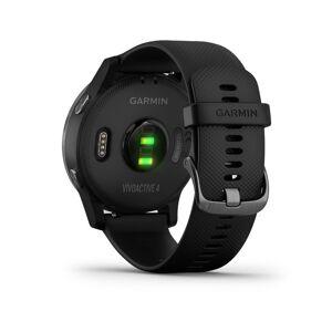 Garmin Vivoactive 4 Smartwatch (Black/Stainless) 010-02174-11
