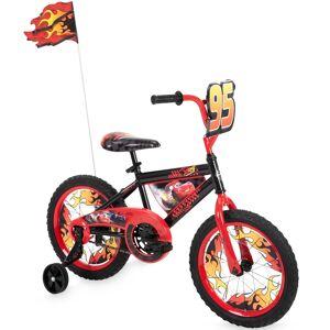 Huffy Cars Lightning McQueen Boys' Bike with Training Wheels, 16-inch - 21440